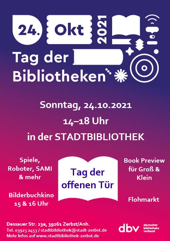 Hier geht es zu den Veranstaltungs Hinweisen der Stadtbibliothek