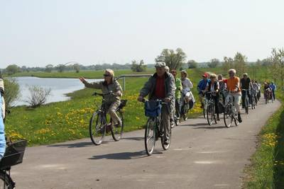 Touristische Radwege und Anlaufpunkte