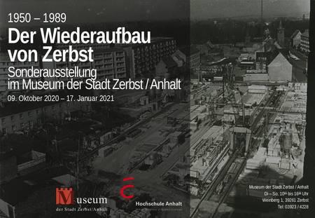Sonderausstellung '1950 - 1989: Der Wiederaufbau von Zerbst'