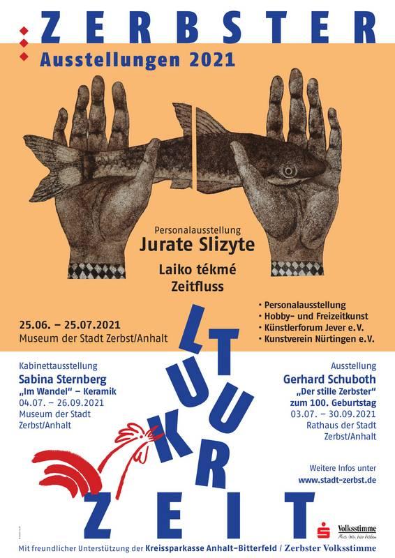 'Zerbster Kulturzeit 2021' - Ausstellungen (nicht nur) im Museum