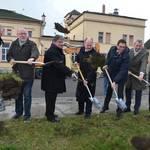 Baustart für neues Bahnhofsumfeld - Änderungen bei Kehrzeiten und PArkmöglichkeiten