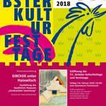 53. Zerbster Kulturfesttage - das ganze Programm