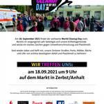 Zerbst/Anhalt am 18. September dabei beim World Cleanup Day – jeder kann mitmachen