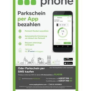 Neu in Zerbst/Anhalt: Parktickets lösen per SMS oder App